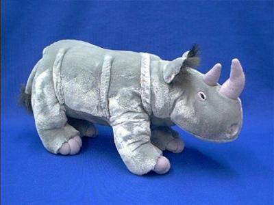 rhino stuffed animal plush
