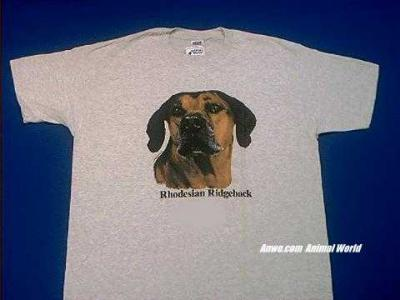 rhodesian ridgeback t shirt face