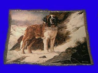 saint bernard blanket