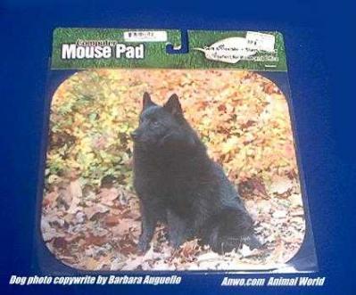 schipperke mousepad