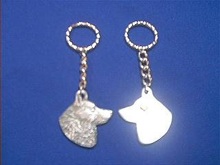 schipperke keychain