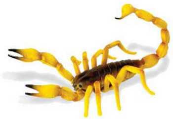 scorpion toy miniature