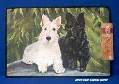 scottish terrier doormat welcome mat