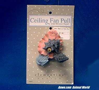 sea shells ceiling fan pull