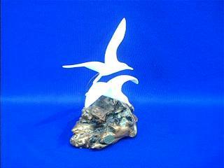 seagull figurine large