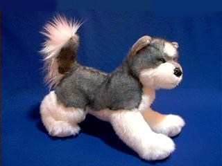 siberian husky plush stuffed animal sasha