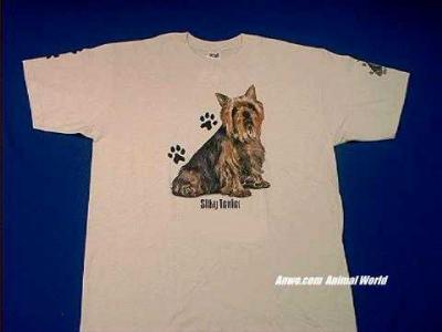 silky terrier t shirt