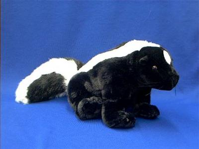 how to make a stuffed skunk