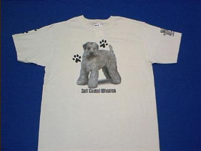 soft coated wheaten t shirt