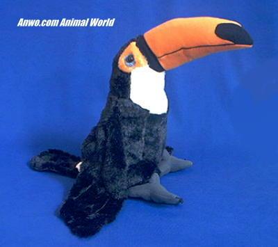 toucan plush stuffed animal cuddlekins