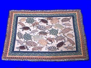 turtle blanket collage