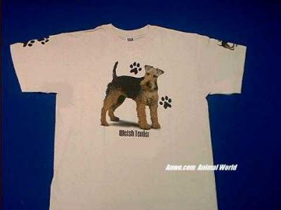 welsh terrier t shirt usa