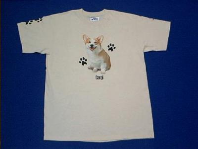 welsh corgi t shirt
