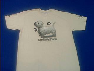 westie t shirt westland white terrier