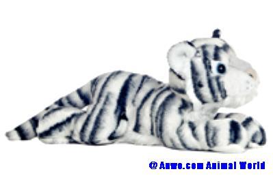 white tiger plush stuffed animal aurora king