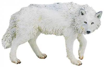 wolf toy white wolf