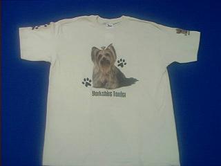 yorkshire terrier t shirt yorkie