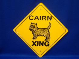Cairn Terrier Crossing SIgn