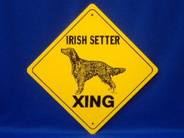 Irish Setter Crossing Sign