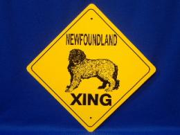Newfoundland Crossing Sign