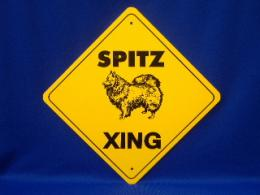 Spitz Crossing Sign