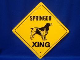 Springer Crossing Sign
