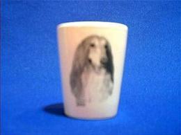afghan hound shotglass