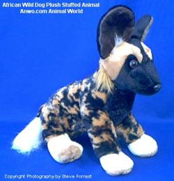 african wild dog plush toy cuddlekins
