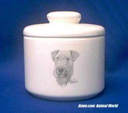 airedale jar porcelain