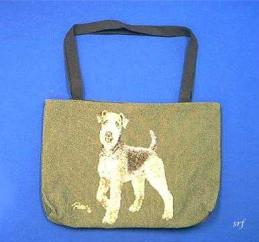 airedale totebag