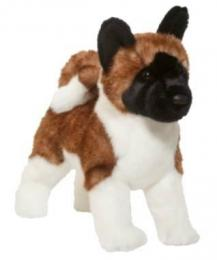 akita plush stuffed animal toy douglas