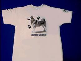 alaskan malamute t shirt