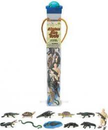 alligator toy tube safari