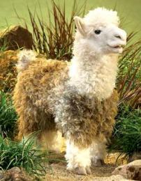 alpaca puppet folkmanis