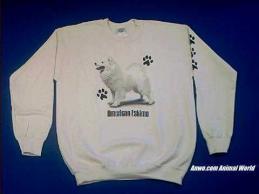 american eskimo sweatshirt spitz