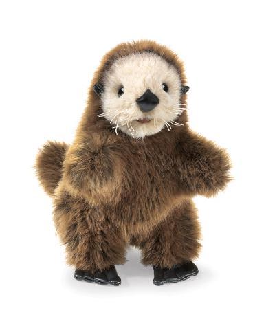 Baby Sea Otter Puppet Plush