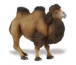 bactrian camel toy miniature 290929