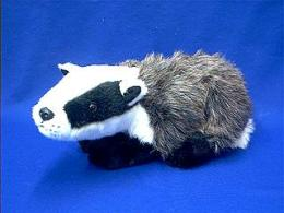 badger plush stuffed animal