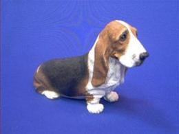 basset hound figurine