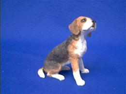 beagle sandicast figurine ss001