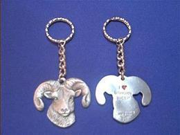 big horn sheep keychain