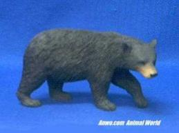 black bear figurine statue small