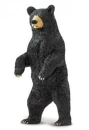 Black Bear Standing Toy Miniature Replica Anwo