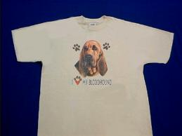 bloodhound  t shirt by Animal World
