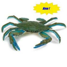 blue crab toy miniature replica