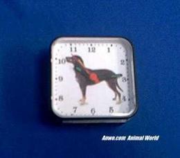 bluetick coonhound clock battery