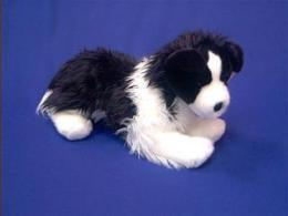 border collie plush stuffed animal toy