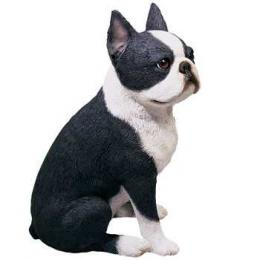 boston terrier figurine sandicast os105