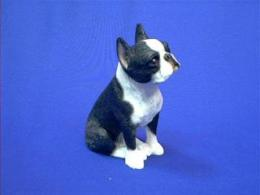 sandicast boston terrier figurine midsize
