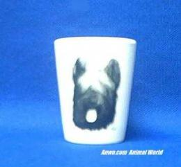 briard shot glass